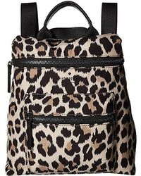 Kate Spade That's The Spirit Convertible Backpack (black/cream Multi) Backpack Bags