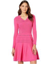 Juicy Couture - Ottoman Stitch Flirty Dress - Lyst