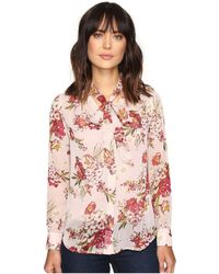Kut From The Kloth - Amelie Tie Front Top - Lyst