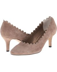 Womens Shoes Vaneli Louise Truffle Suede