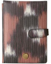 Lodis - Boho Passport Wallet With Ticket Flap - Lyst