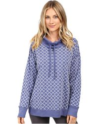 Carole Hochman - Popover Top With Flocking - Lyst