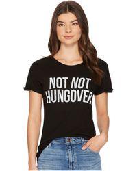 The Original Retro Brand - Not Not Hungover Rolled Short Sleeve Slub Tee - Lyst