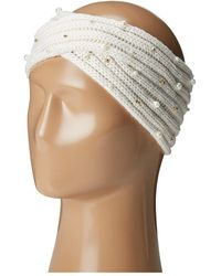 Betsey Johnson - Crazy For Pearl Headband - Lyst