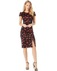 Betsey Johnson - Cherry-print Sheath Dress - Lyst