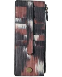 Lodis - Boho Credit Card Case With Zipper Pocket - Lyst