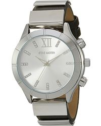 Steve Madden - Leather Band Watch - Lyst