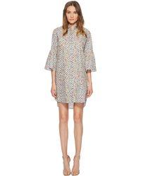 Paul Smith - Floral Print Cotton Dress - Lyst