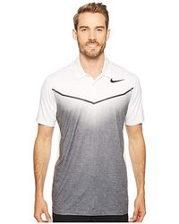 0acd270a5 Nike Mobility Remix Men's Standard Fit Golf Polo Shirt in White for ...