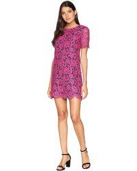 Juicy Couture - Bucharest Floral Lace Dress - Lyst