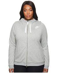 8e984a907 Nike Sportswear Gym Vintage Hbr Hoodie (habanero Red/sail) Sweatshirt in  Red - Save 35% - Lyst