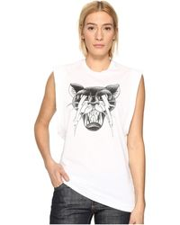 DSquared² - Renny Fit Cat Muscle T-shirt - Lyst