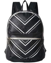 d146d43f0d7 Steve Madden Trudy Patchwork Backpack in Black - Lyst