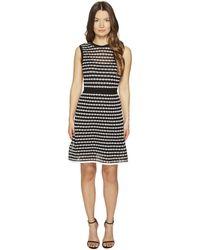 M Missoni - Horizontal Triangle Knit Sleeveless Dress - Lyst