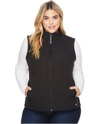 Roper - Plus Size 1321 Black Softshell Vest - Lyst