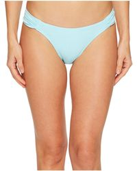 Letarte - Ruched Side Bottoms - Lyst