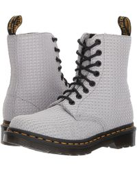 Dr. Martens - Page Wc Padded Collar Boot - Lyst