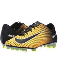 e5d2162288c4 Nike Mercurial Veloce Iii Ag-pro Football Boots in Yellow for Men - Lyst