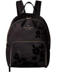 Kate Spade - Watson Lane Flocking Hartley (black) Handbags - Lyst