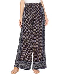 Angie - Printed Pants - Lyst