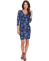 0d481f64 NYDJ - Monique Cheetah Print Dress - Lyst