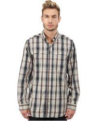 Carhartt   Force Mandan Plaid Long Sleeve Shirt   Lyst