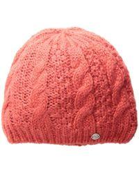 82286f353c9 Lyst - Spyder Women s Amplitude Knit Hat in Purple