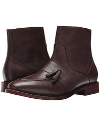 Michael Bastian - Sidney Tassel Zip Boot (van Dyck Brown) Boots - Lyst