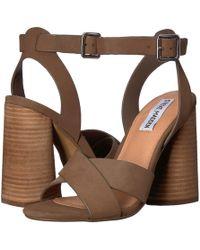 d731dc0ffabdb5 Lyst - Tommy Hilfiger Wendel Platform Dress Sandals in Black