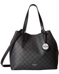 Nine West - Bryn Tote (mocha) Tote Handbags - Lyst