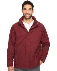 Izod   Water Resistant Fleece-lined Jacket With Hidden Hood   Lyst