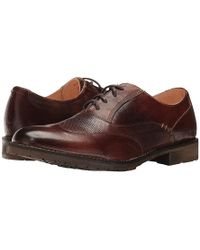 Bed Stu - Gibson (teak Rustic Leather) Shoes - Lyst