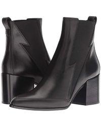 Belstaff - Elmdale Calf Leather Lighting Bootie (black) Boots - Lyst
