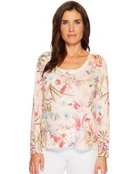 Nally & Millie - Floral Print Top - Lyst
