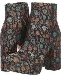 b96fbe7aee1fbd Sam Edelman - Azra Floral Brocade Booties - Lyst