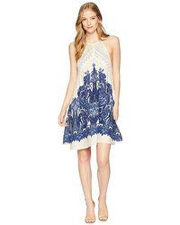 3f5feaac4c61 Free People - Shea Printed Mini Dress (ivory Combo) Dress - Lyst