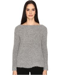ATM - Cozy Open Neck Pullover - Lyst