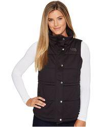 5b299e8bd509 Lyst - The North Face Pseudio Vest (tnf Light Grey Heather) Women s ...