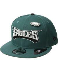 5fd28569dce Lyst - KTZ Atlanta Falcons Pinned Snap (black) Baseball Caps in ...