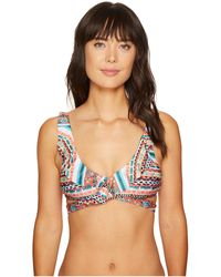 Becca - Tapestry Wrap Top - Lyst