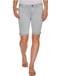 Liverpool Jeans Company - Hayden Boyfriend Shorts In Stretch Peached Twill - Lyst
