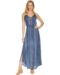 Rip Curl - Blue Tides Dress - Lyst