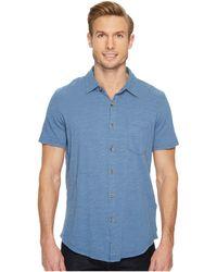 Mod-o-doc - Montana Short Sleeve Button Front Shirt - Lyst