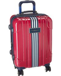 "Tommy Hilfiger - Reji Stripe 20"" Upright Suitcase - Lyst"