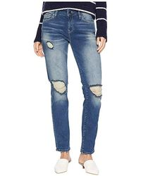 Mavi Jeans - Ada Jeans In Mid Ripped Vintage (mid Ripped Vintage) Jeans - Lyst