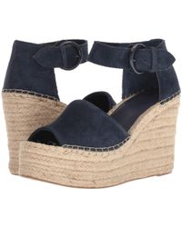 ede064b38a0 Lyst - Marc Fisher Alida Espadrille Platform Wedge in Yellow