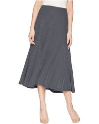Chaps - Striped Jersey Maxi Skirt - Lyst