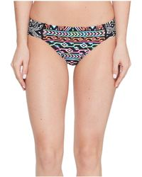 La Blanca - La Azteca Side Shirred Hipster Bottom - Lyst