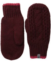 The North Face - Cable Knit Mitt - Lyst