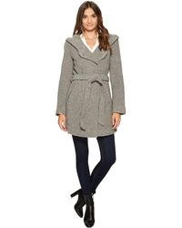 """Marc New York - Flair 31"""" Felted Wool Coat - Lyst"""